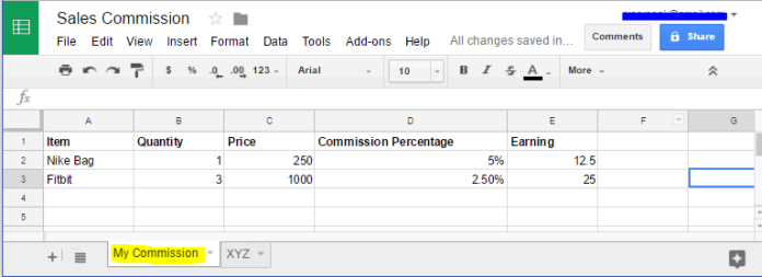 How to Share Only Specific Sheet/Single Tab in Google Spreadsheet