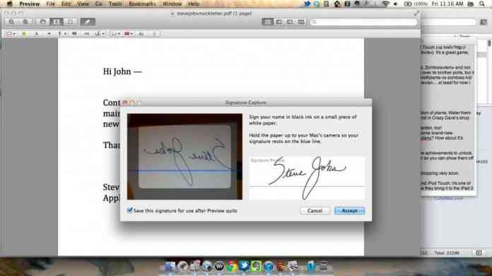 How to Electronically Sign a PDF using Preview on Mac 1