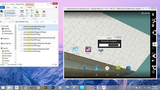 GenyMotion-Android-Emulator-7