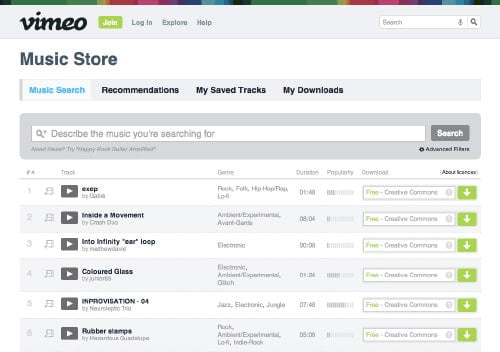 12 Best Websites To Get Free Creative Commons Music for YouTube 5