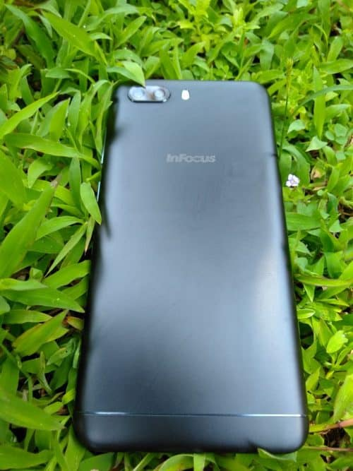 back side infocus turbo 5 plus review