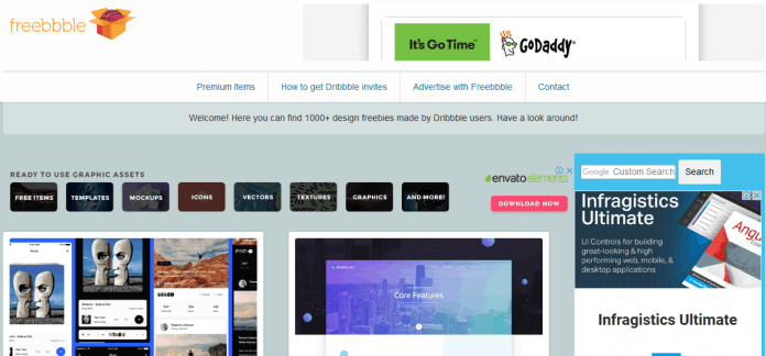 Top 12 Sites to Get High Quality Free Design Templates 3