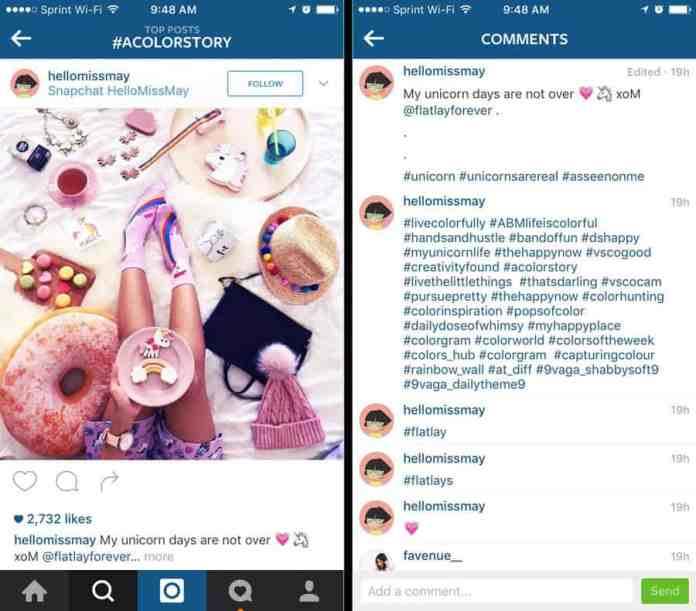 GADGETNOTE_Talent or field specific Instagram hashtags