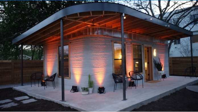 This Company Built a Concrete 3D Printed Homes in just 24 hours 4