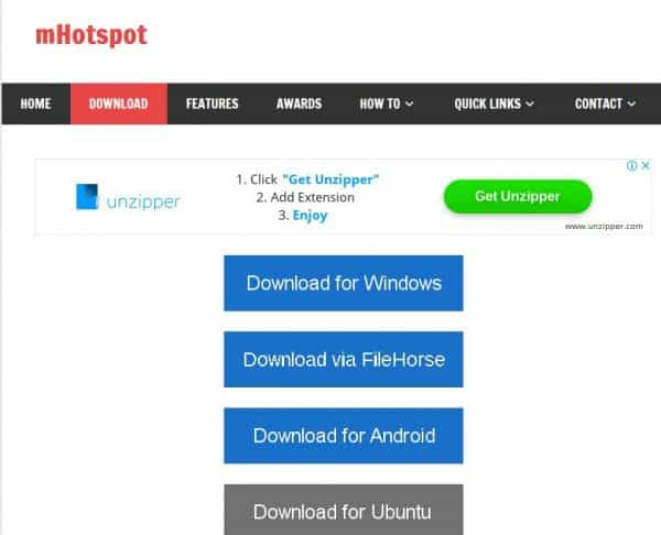 Best Alternatives for Connenctify For Wifi Hotspot Sharing from PC 6