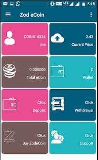 Zodiaq ICO ( ZOD TOKEN): crypto and fiat banking blockchain 3