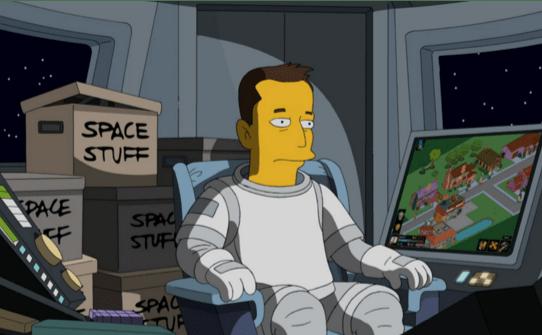 Elon musk cameo in simpsons