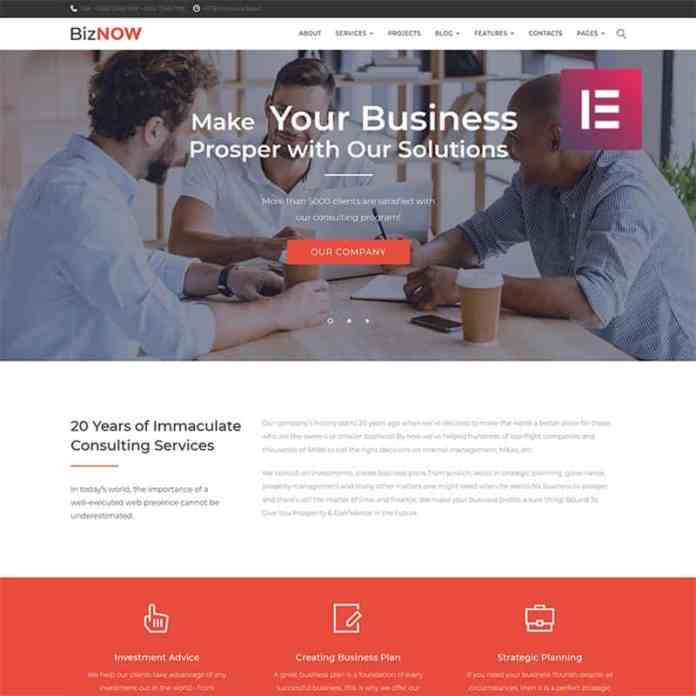 Top 10 WordPress Themes for Startups 6