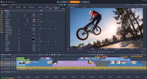 Pinnacle Studio youtube video software