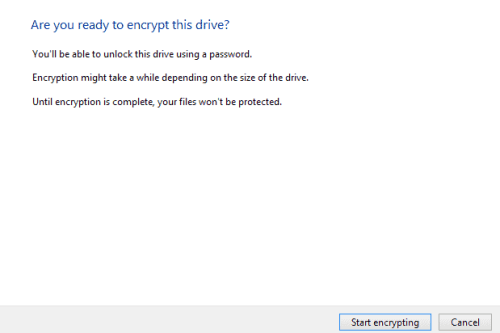 encrypt external hard drives