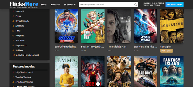 8 Best TVMuse alternatives with all-inclusive movies and TV shows for free! 9