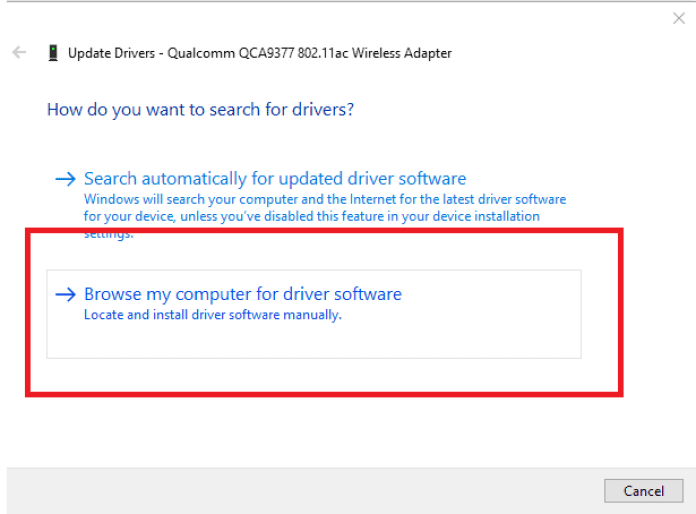 "How to fix ""The default gateway is not available"" error? 10"