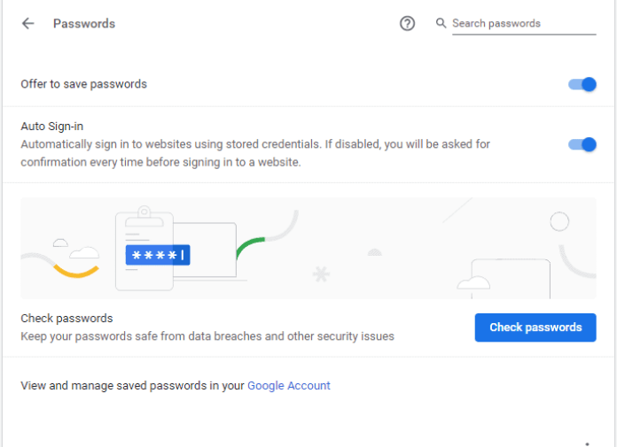 7 Quick Fix To Resolve If Chrome is not saving passwords 5
