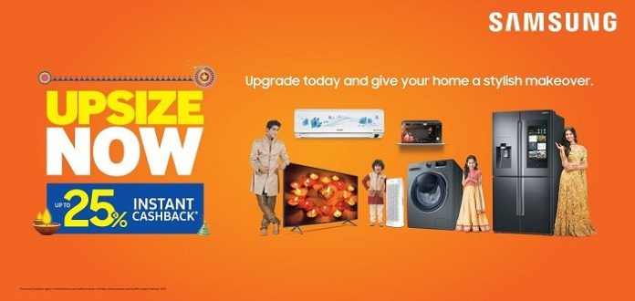 Give Your Home a Stylish Makeover – Upsize Now with Samsung's Exciting  Offers and Great Products – Samsung Newsroom India