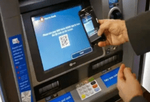 CUB Caedless withdrawal using QR