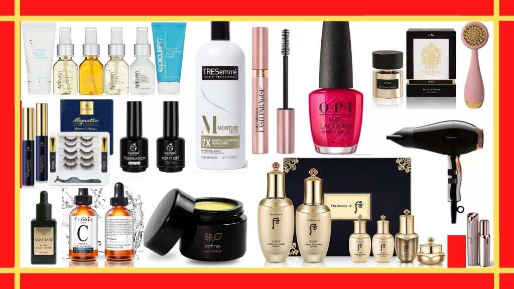 luxury beauty and personal care products