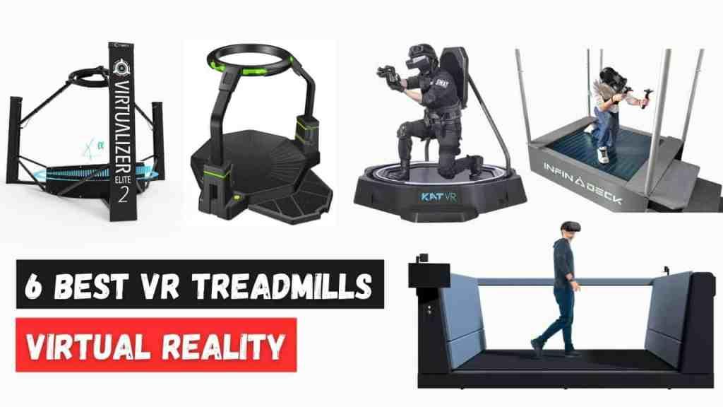 6 best vr treadmills 2021: Omnidirectional Virtual Reality Treadmill