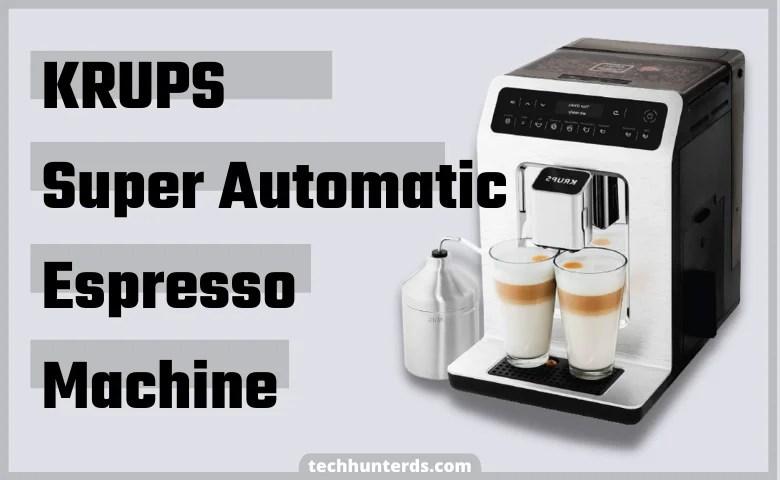 Krups Super Automatic Espresso and Cappuccino Machine