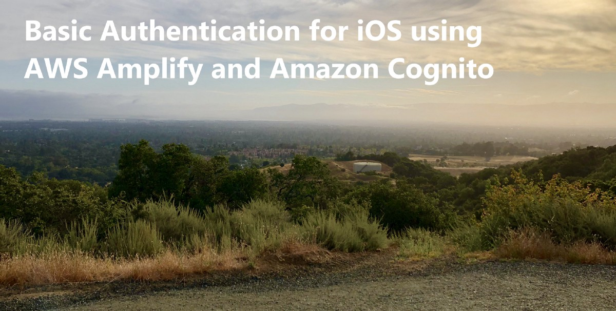Basic Authentication for iOS using AWS Amplify and Amazon