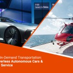 Future of on-demand transportation: Uber's driverless autonomous cars & helicopter service