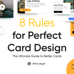 8 rules for a perfect card design