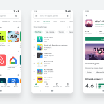 The Google Play store's visual refresh