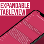 How to make Expandable TableView using Swift