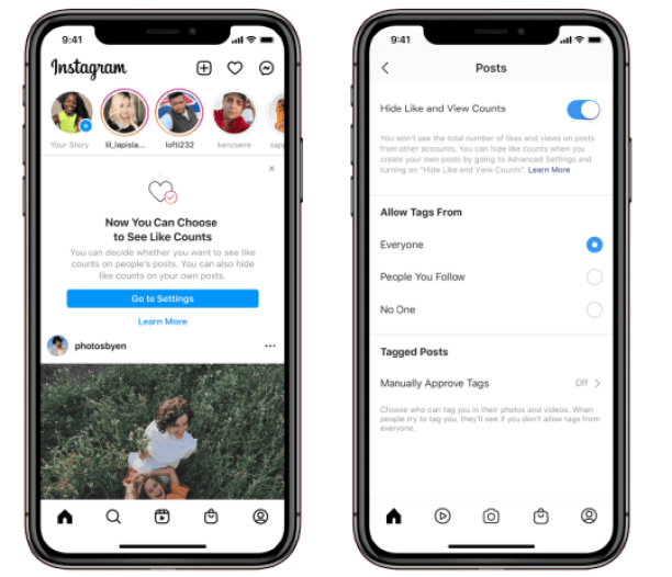 From now you can hide like counts on your posts on Facebook and Instagram