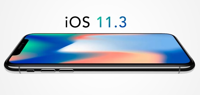 Apple iOS 11.3 Update