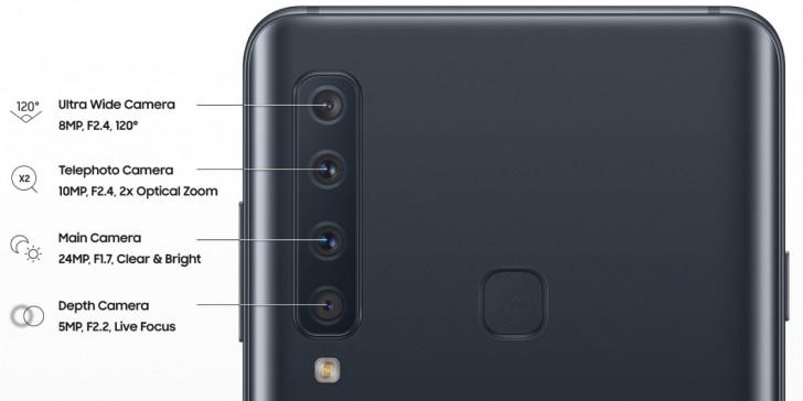 4 modul kamera Samsung Galaxy A9 (2018)