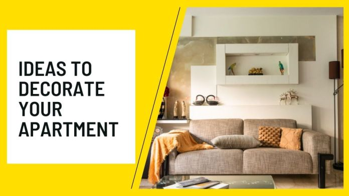 Inexpensive ideas to decorate your apartment
