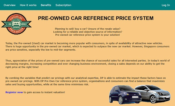 Singapore Use This Calculator To Check How Much Your Car Is Worth