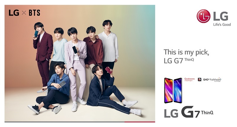 LG Introduces G7+ThinQ Smartphone, Bonus for BTS Fans