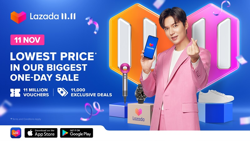 What to Expect at Lazada 11.11 Biggest One-Day Sale | TechieLobang