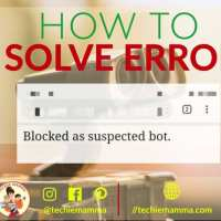 "Getting the WordPress Error ""Blocked as suspected bot"""