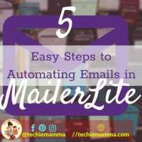 5 Easy Steps to Automating Emails in MailerLite