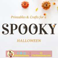 Halloween Fun with Printables and Crafts