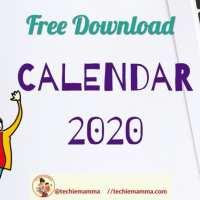 Ultimate Mompreneur 2020 Calendar Planning Guide