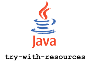 Java try-with-resources