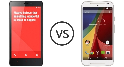 Xiaomi Redmi Note vs Moto G 2014