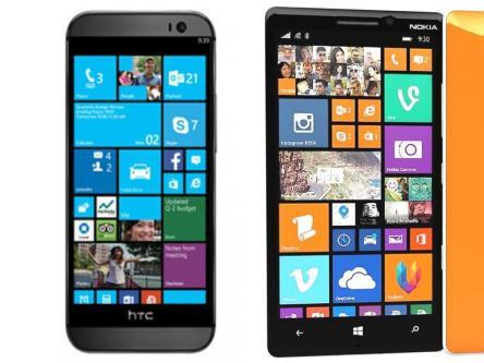 Samsung Note 4 vs Nokia Lumia Icon Comparison