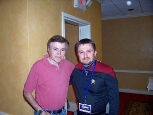 Walter Koenig pictured with Michael Srock 2006