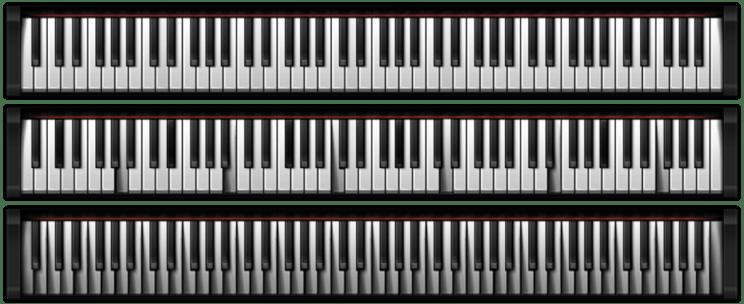 PIANO for Rainmeter