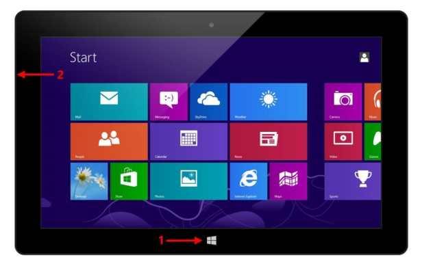 Sync-Tap the Windows Key + Volume Down