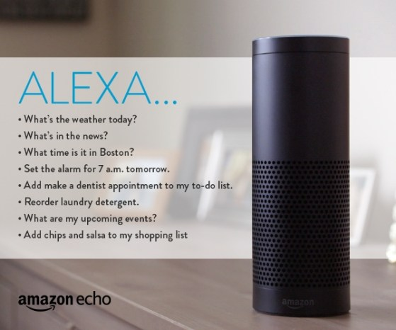 amazon echo commands
