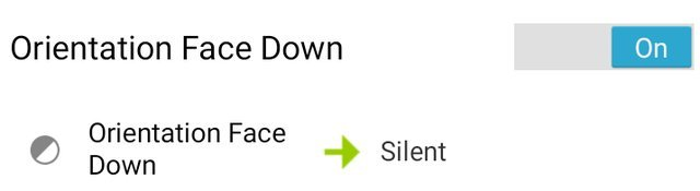 Activating Silent Mode