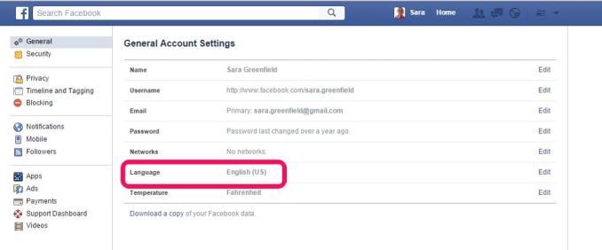 facebook-language-settings