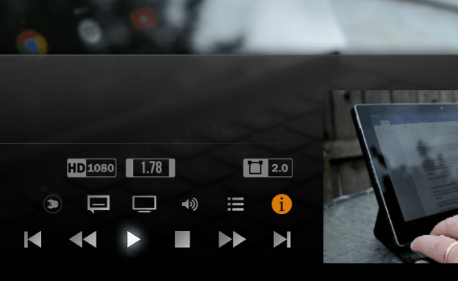 kodi shortcuts for Media Playback