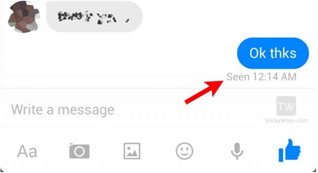 Disabling 'Seen' Feature on Messenger
