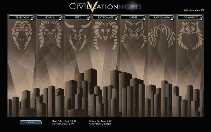 Civilization Nights